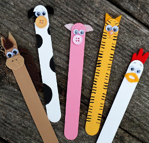 Out of the Barn Popsicle Sticks