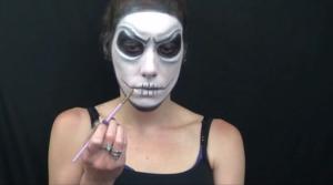 Skeleton Halloween Makeup Tutorial