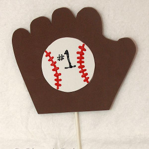 #1 Baseball Fan Sports Craft