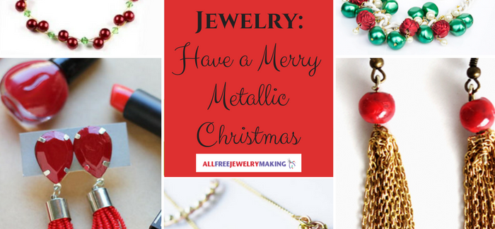 Silver and Gold Jewelry: Have a Merry Metallic Christmas
