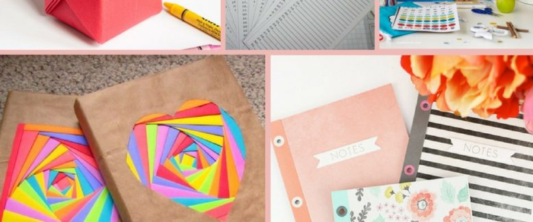 42 Back to School Paper Crafts