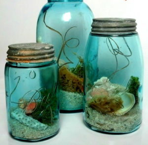 Coastal Vibes Keepsake Jar