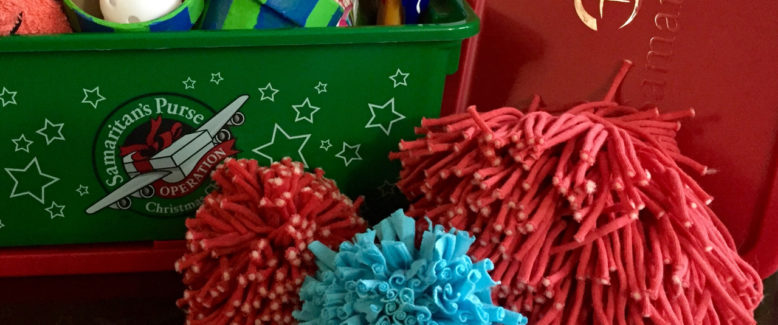 Operation Christmas Child Craft: Rya-Tie Pom Pom Ball