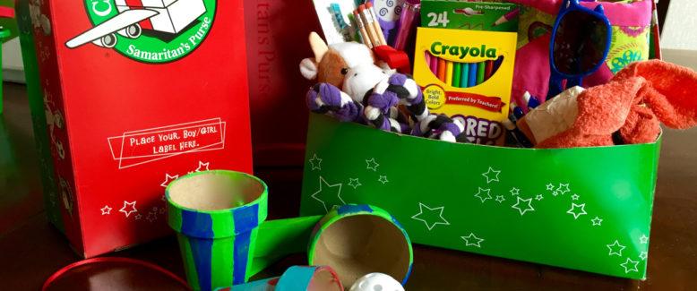 Operation Christmas Child Craft: Paper Maché Flower Pot Games