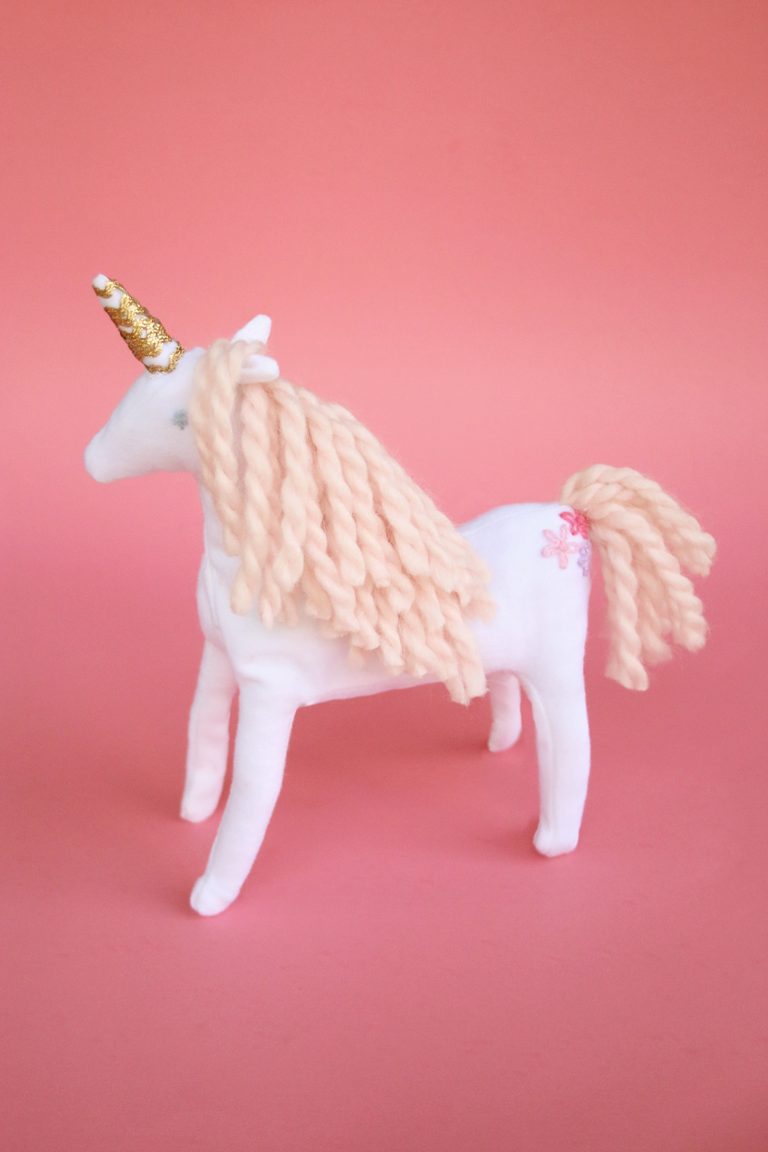 Magical Unicorn Stuffed Animal Pattern