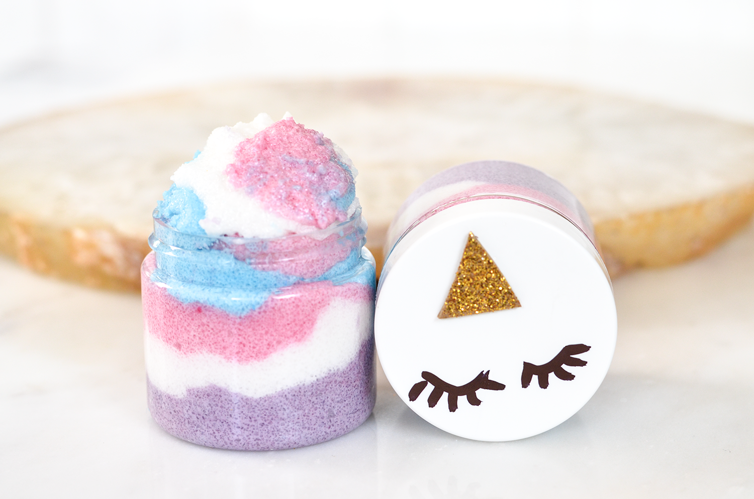 Marvelous Unicorn Sugar Scrub Recipe