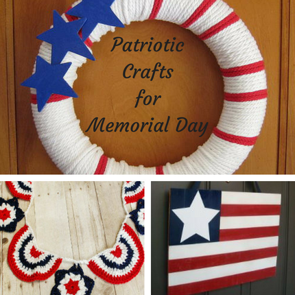 Patriotic Crafts for Memorial Day