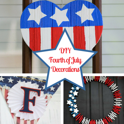 19 DIY Fourth of July Decorations for Your Home