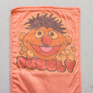 Recycled T-Shirt Burp Cloths