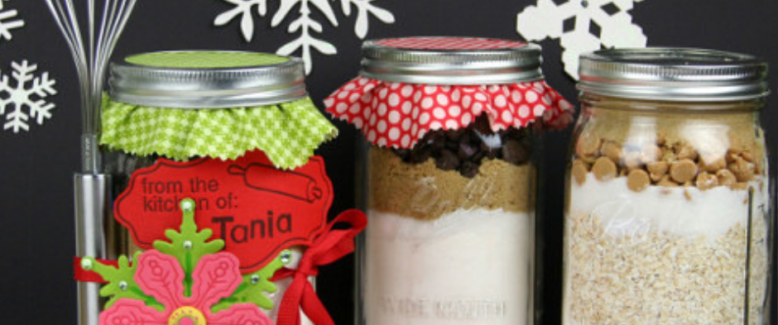 Adorable Holiday Recipes and Gifts in a Jar